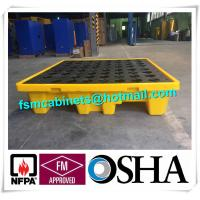 China Oil Tank Storage HDPE Spill Containment Pallets, Spill Pallet for 220L Oil Drum wholesale