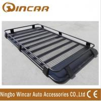 China Steel car roof luggage carrier , body / iron+ brake / steel Car roof racks wholesale