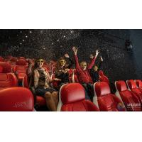 China Innovative Electric System 5D Movie Theater Cinema Equipment Black , Red Color wholesale