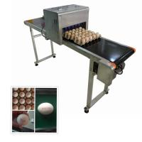 China Continuous Eggs Automatic Batch Coding MachineWith 0mm - 5mm Printing Distance wholesale