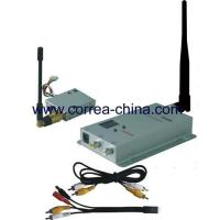 China 1.2GHz 100mW wireless AV transmitter receiver kit wholesale