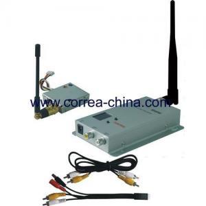 China 1.2GHz 100mW wireless AV transmitter receiver kit wholesale