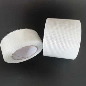 China High strength fiberglass sticky mesh tape for wall gap repairing material wholesale