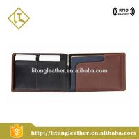 China cow leather wallet wholesale travel passport holders slim wallet with business card holder, pen, sim card holder wholesale