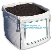 China pp woven big fibc jumbo bag for coal cement,100% Virgin Material pp woven bulk bag 1000kg-3000kg,FIBC Recycle Container on sale