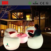 China 16 color changable Hot Selling Whaterproof Furniture LED Glowing Chair For Outdoor Yard Garden Party Club Event Park wholesale