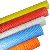 China Different colors sticky fiberglass net used for construction material on the wall wholesale