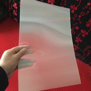 China 120cmx240cm 3 mm 3d lenticular sheet 20 LPI flip effect designed for flip effect on injekt printer USA wholesale