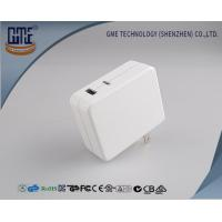 White Multi Functional 30w Usb Charger Adapter With Qc And Type - C , Quick Charging