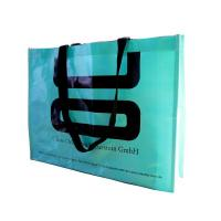 China Promotional gifts Bopp Laminated PP Woven Shopping Bag Sacks with Handle wholesale