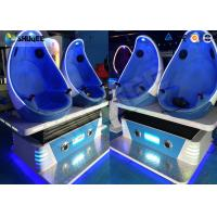 China Luxurious Virtual Reality / VR 9d Cinema Simulator Game Machine For Shopping Mall wholesale