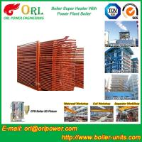 China Pendant CFB Boiler Superheater In Power Weight Heft 30ton-Plant 130 MW , Convective Superheater wholesale