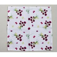 China 36 * 38cm Floral Kitchen Dish Towels With High Water And Grease Absorption wholesale