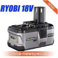China Ryobi 18V P104 compact Lithium Ion Battery ONE+ Power tool battery - Free Shipping ! wholesale