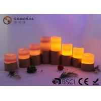 China Colorful Outdoor Electric Candles Set , Waterproof Flameless Candles wholesale