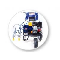 China Spray Line Marking Machine For 2-Guns Professional Stripers , Road Painting Equipment wholesale