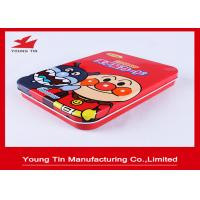 Buy cheap 160*120*30mm Tinplate Printed Tin Boxes Rectangular Metal For Gifts Packaging from wholesalers
