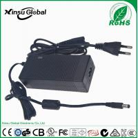 Best selling portable 12.6V 5A lithium ion battery charger with UL cUL CE GS SAA .etc