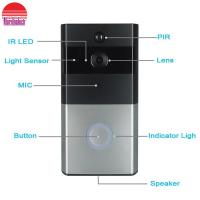 China WiFi Door Bell Camera Mobile phone App Remote monitor Wireless video Doorbell on sale