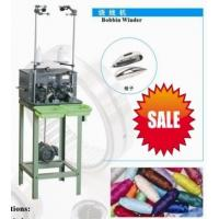 China Wire Sewing Pirn Bobbin Winding Machine Two Spindles For Suitcases , Garments wholesale