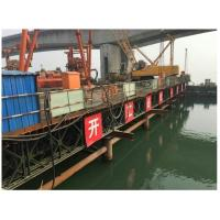 China 321 Type Bailey Suspension Bridge , Painted Folating Pontoon Military Portable Bridge wholesale