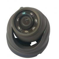China 700 TVL Black Vehicle Mounted Cameras , Infrared Mini Dome Security Car Camera wholesale