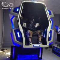 Quality Funny Experience 9D VR Motion Simulator Full Immersive Amusement 4KW for sale