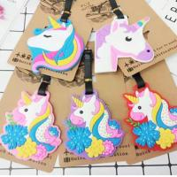 China Custom Promotional Rubber Items Gift Cartoon Silicone Bag Tags As Souvenirs wholesale