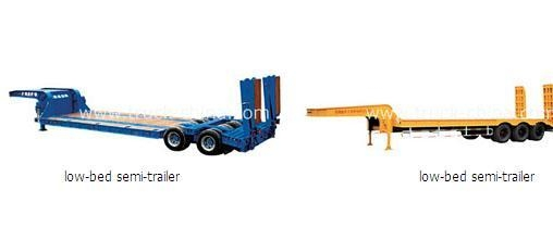 China SEMI-TRAILE Low-bed series