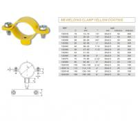 China Heavy / Light Pipe Clamps M8 WELDING CLAMP YELLOW COATING wholesale