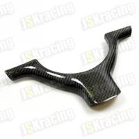 China bmw E46 M3 carbon fiber steering wheel trim on sale
