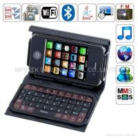 China T8000 WIFI TV mobile phone of 2.8 touch screen with Full keypad case on sale