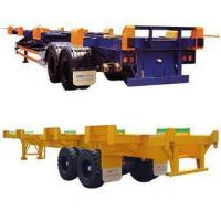 China Yard Chassis / Bomb Cart / Container Chassis wholesale
