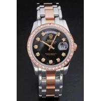China Replica Rolex Day Date rl35 18k rose gold Men