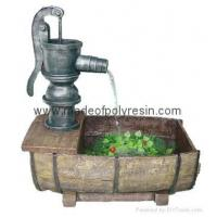 China polyresin outdoor fountain,garden fountain,pump fountain wholesale