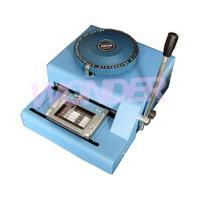 China WSDM—41DX Manual nameplate convex word printer wholesale