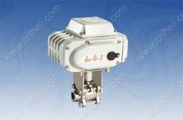 China 【Electrc ball valve (stainless steel)】