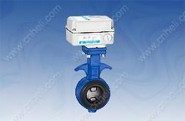 China 【Cast iron electric butterfly valve】