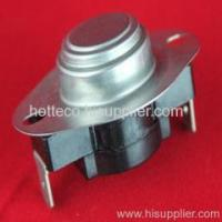 China bimetal disc thermostat on sale