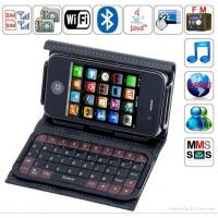 China T8000 Quad Band Dual Cards Dual Standby Dual Cameras WIFI tv mobile phone on sale