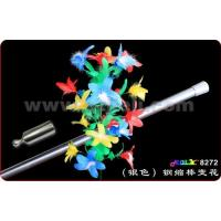 China silver steel reduced sticks change flower 8272 wholesale