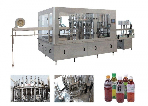 Quality RXGF Series Juice Hot Filling 3-In1 Machine for sale