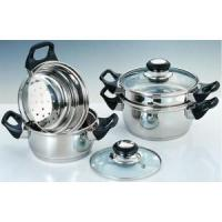 China 5-PCS STAINLSS STEEL STEAMER SET on sale