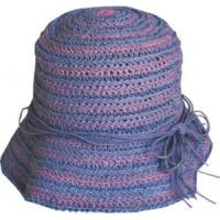 China paper crochet hat on sale