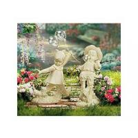 China Polyresin Statues Resin Boy Blowing Bubble Gum wholesale