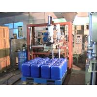 China Liquid Filling System 25L Auto Pallet Jerry Can Filler with 2 heads Model MG-25P-2 wholesale