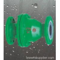 China Valves FEP lined swing type check valve Zhejiang,China (Mainland) wholesale