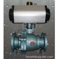 China Valves Pneumatic actuator FEP lined ball valve Zhejiang,China (Mainland) wholesale