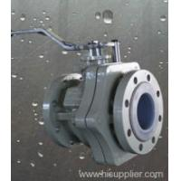 China Valves ANSI B16.10 PFA lined ball valve Zhejiang,China (Mainland) wholesale