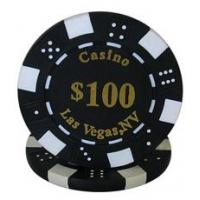 China 11.5g poker chips Hot Stamp Dice Poker Chip wholesale